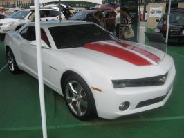 Chevrolet Camaro SS White on Red by granturismomh