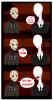 Slenderman Meets Pinhead COLLAB by Prepare-Your-Bladder