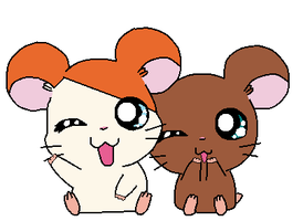 Me and Hamtaro by Nero-Chan95