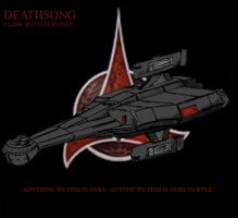 Klingon Battle Cruiser by Andared