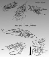 Sovereign Swarmship _ Variants by SwarmCreator