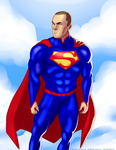Birthday Superman For Angie Rojas By Ulics by zenx007