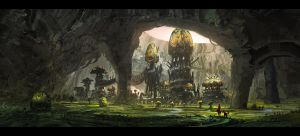 Grotto by DominiquevVelsen