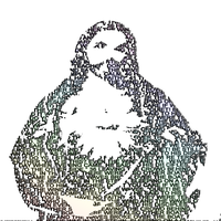Jesus Typography by thinminmeg