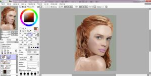 WIP - Redhead by Charlynd