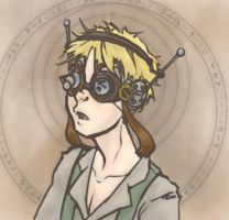 Steam Punk Thad Entry 3 by Skittering-Roach