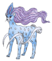 Suicune by bubblewrap-pancakes