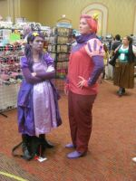 Animefest '12 - Prince Gumball and LSP by TexConChaser