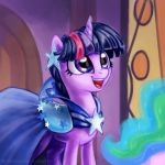 Twilight Gala Portrait by KP-ShadowSquirrel