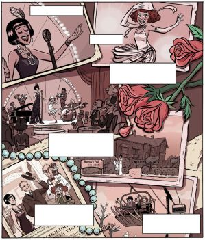 Womanthology page by ktshy