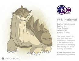#44. Theriomat (fakemon) by SpyrosBionic