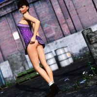 Street Pin Up 2 by Strutter79