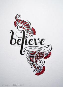 Believe in Yourself by FaMz