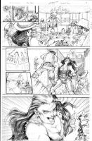 Marvel Fantastic Four TryOut Page 3 by DubuGomdori