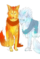 ice and fire, fire and ice by DekuMUTT