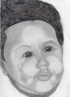 Self Baby Portrait by KingJude