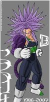 Trunks SSJ4 V1 by 3DU86