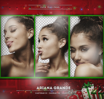 Pack png: Ariana Grande by ValentinaDontiWanna
