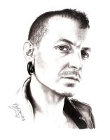 Chester Bennington by NosKing