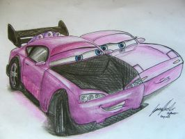Boost and Rose by Lowrider-Girl