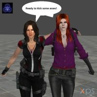 Demon Hunter pack (Hatsumy and Nera) by Hatsumy38660
