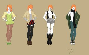 fashion design set 2 by Rinmaru