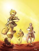 KH: BBS - Into the Sun by LynxGriffin