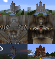MC Temple of Time Collage by Sarinilli
