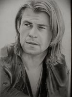Chris Hemsworth Portrait by ManicTM