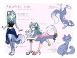 pastelcat Luna - SOLD by Fukari