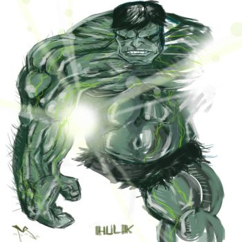 Hulk by middleclasscyborg