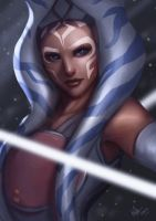 Ahsoka Tano by Beverii