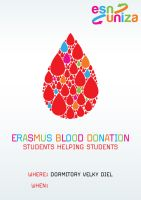 Erasmus blood donation by YannisZA