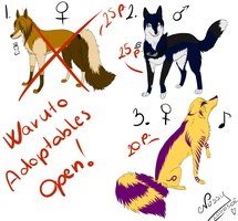 Waruto Points Adoptables CLOSE by GreeNissy
