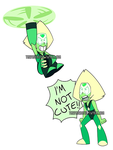 Peridot Stickers by ThePhoebster