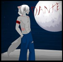 Dante the wolfie .:vampire:. by KiaTheWolf