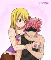Vulnerable (Day 2) - Nalu week FT by Timagirl