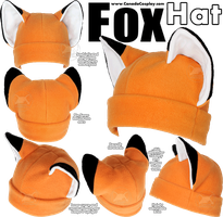 Fox Hat by KayPikeFashion