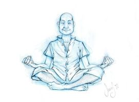 Meditation Pose by ofirbr