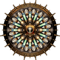 Machanical Steampunk Mandala by IllustratorG