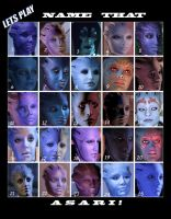 Name that Asari by maqeurious