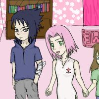 In the pink room by sasuxsaku842