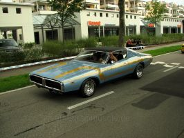 custom paintjob on charger by AmericanMuscle