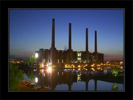 Old Power Plant Wolfsburg by cody29