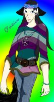 Hippie girl by PoesRaven1990
