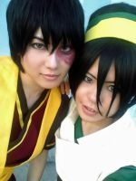 Makings: Me and Toph by MIUX-R