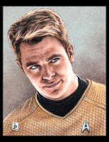Chris Pine, James T. Kirk by louissollune