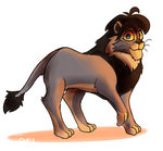 Discarded Lion by AnotherAverageArtist