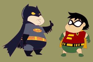batman chubby project by Sinapi