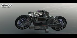 VP100- Solidworks Motorcycle by Celh